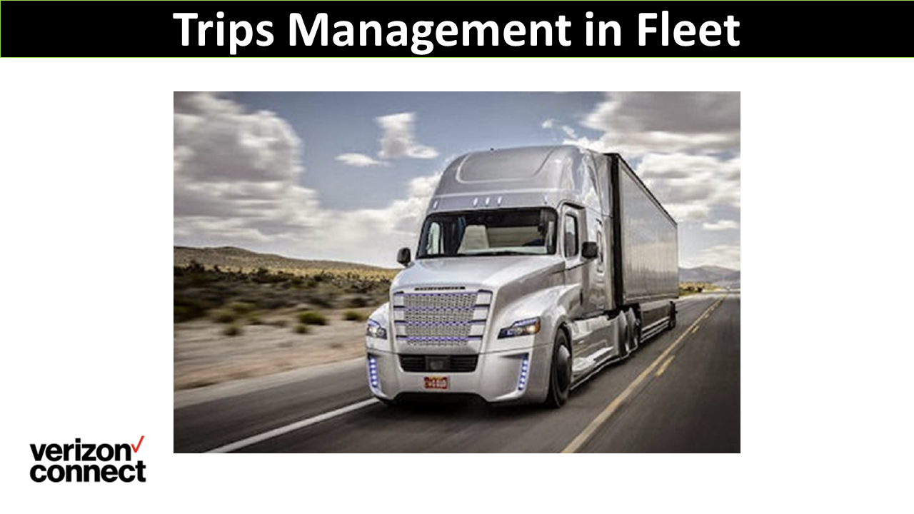 Trips Management in Fleet