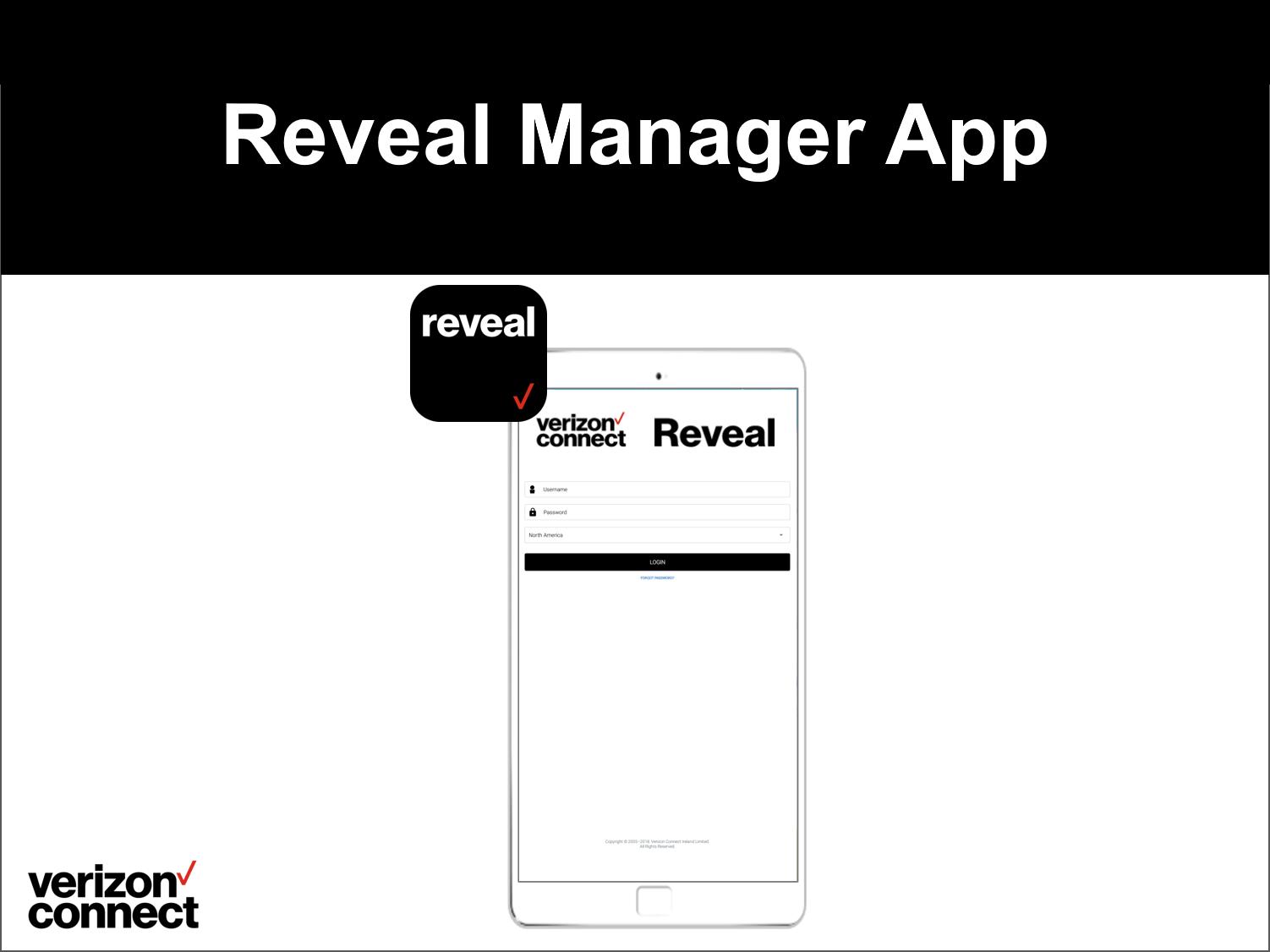 Reveal Manager App eTutorial