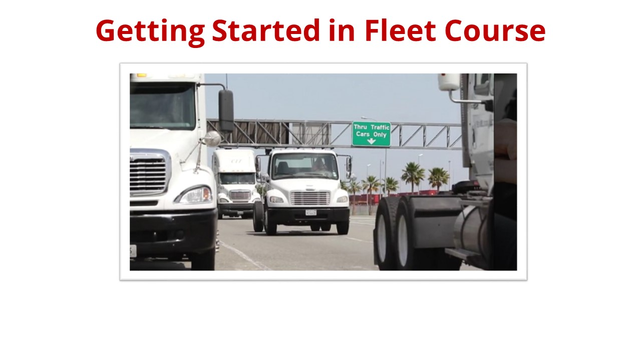 Getting Started in Fleet Course