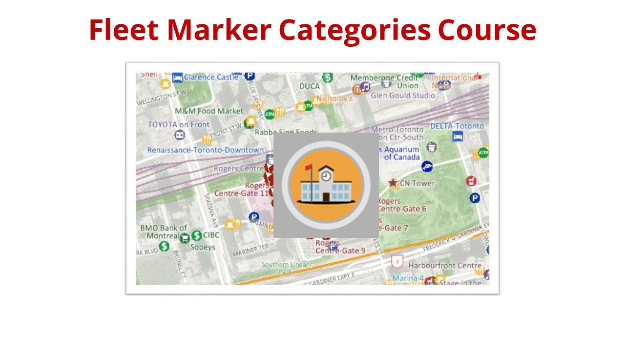 Fleet Marker Categories Course