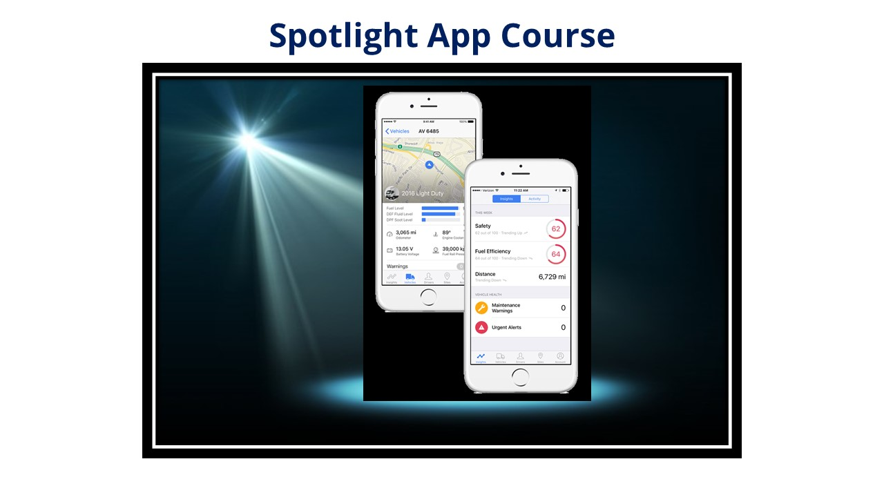 Spotlight App Course