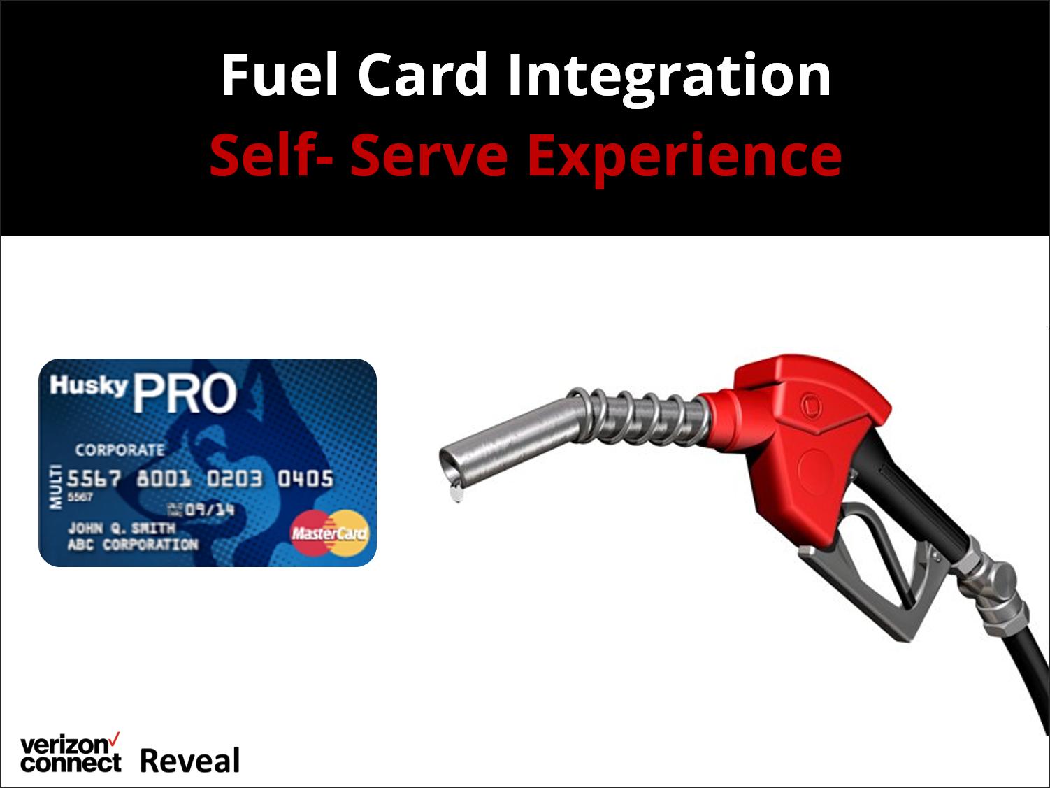 Reveal Fuel Card Integration Self-Serve Experience eTutorial