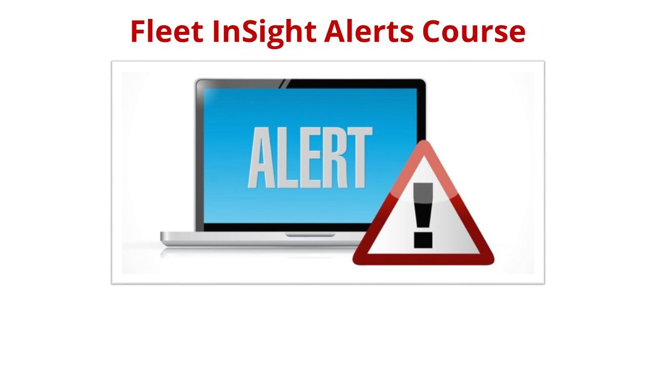 Fleet InSight Alerts Course