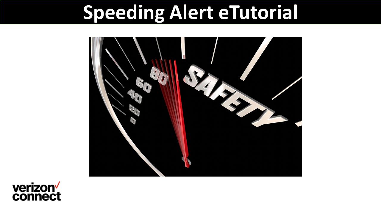 Speeding Alert