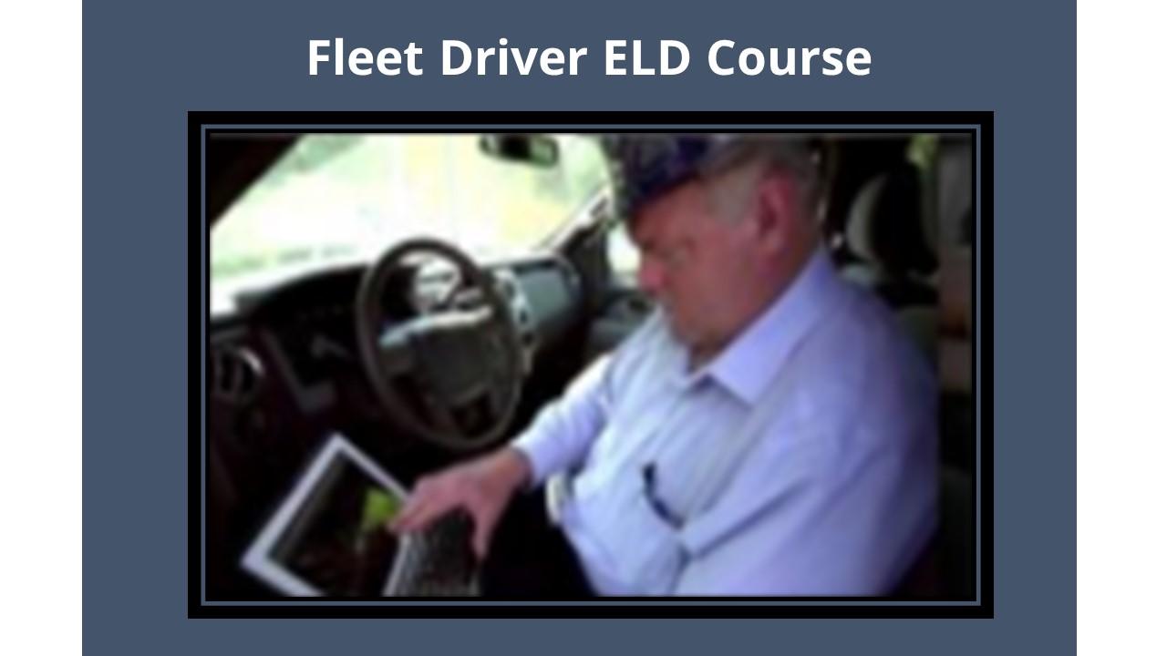 Fleet Driver ELD Course