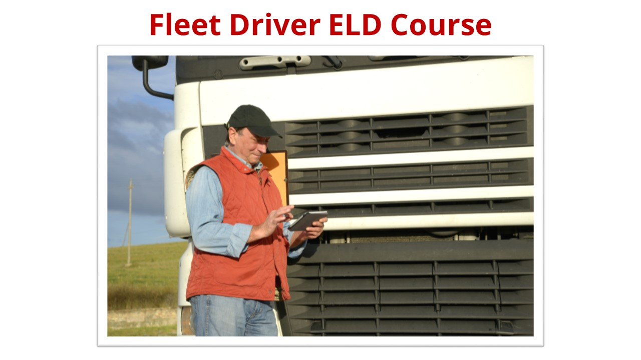 Fleet Driver ELD Course