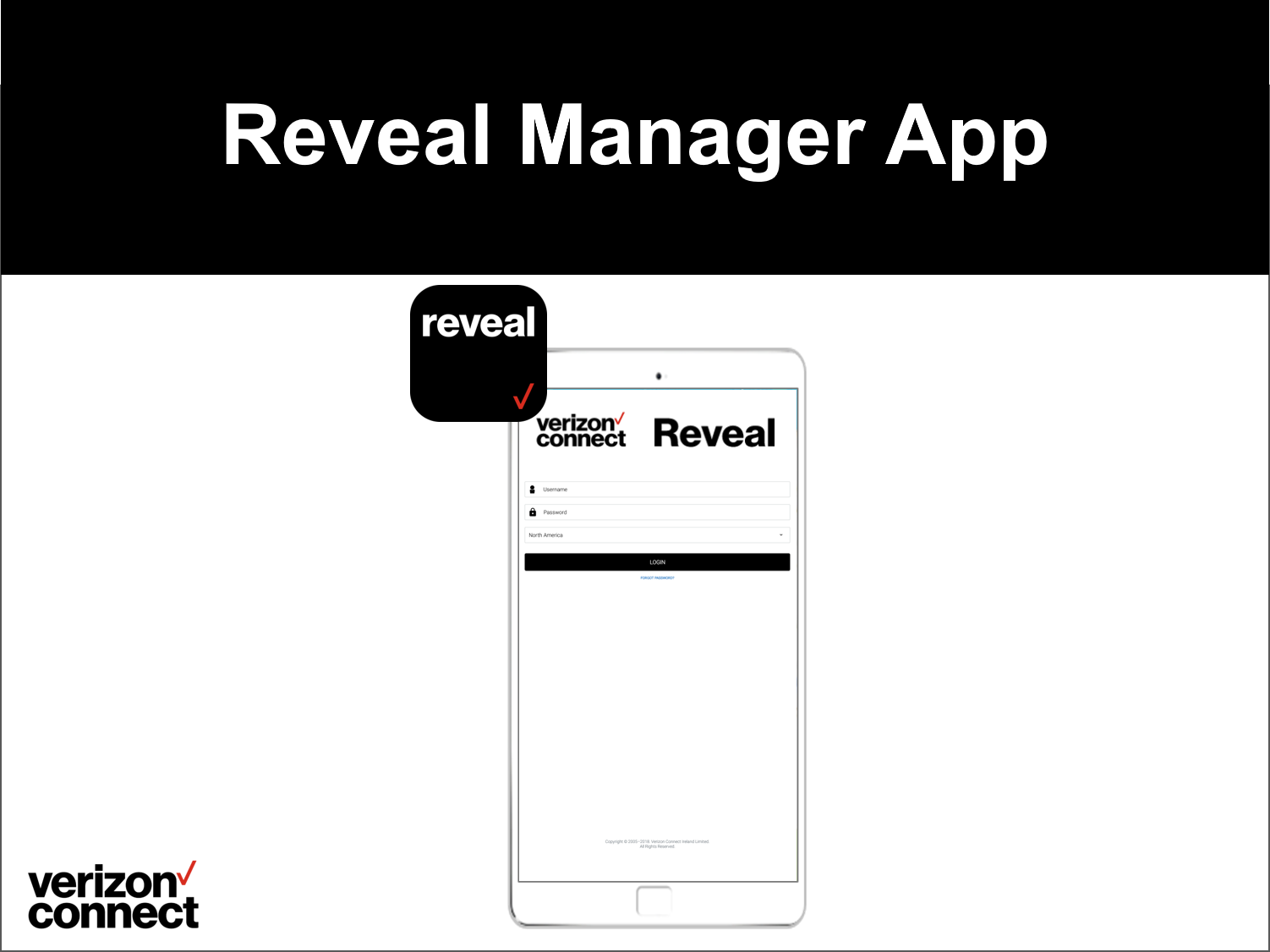Reveal Manager App eTutorial