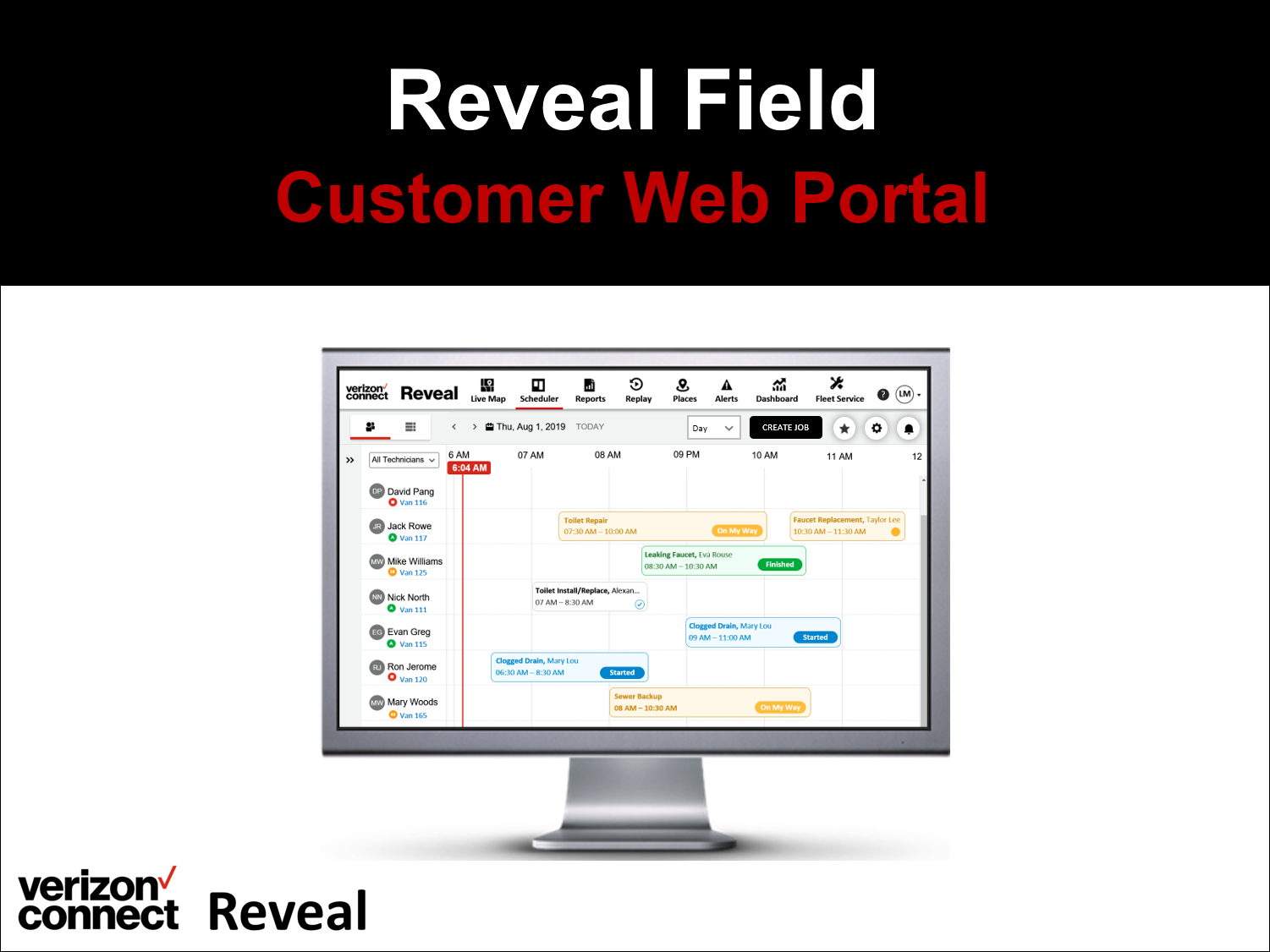 Verizon Connect Reveal Field eTutorial (for admin/dispatchers)