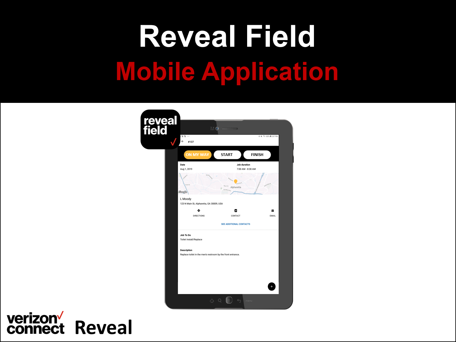 Verizon Connect Reveal Field Mobile App eTutorial (for drivers/technicians)