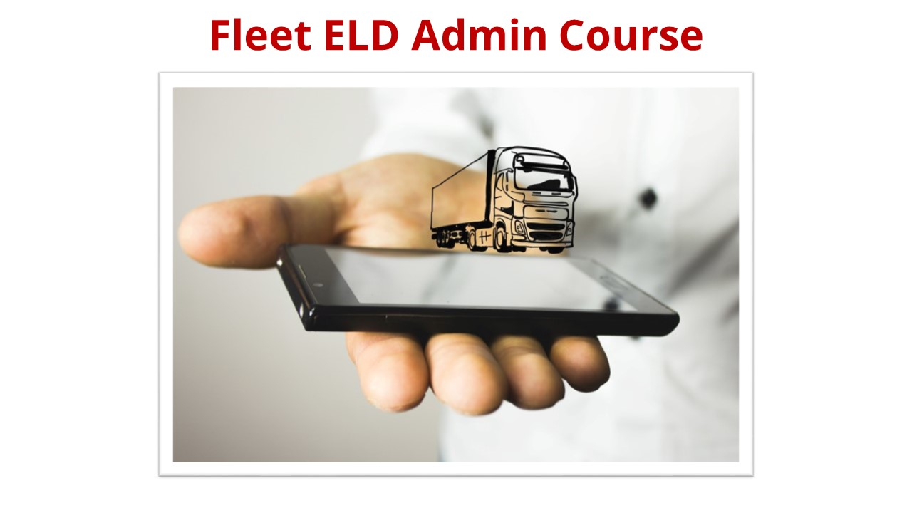 Fleet  ELD Admin Course