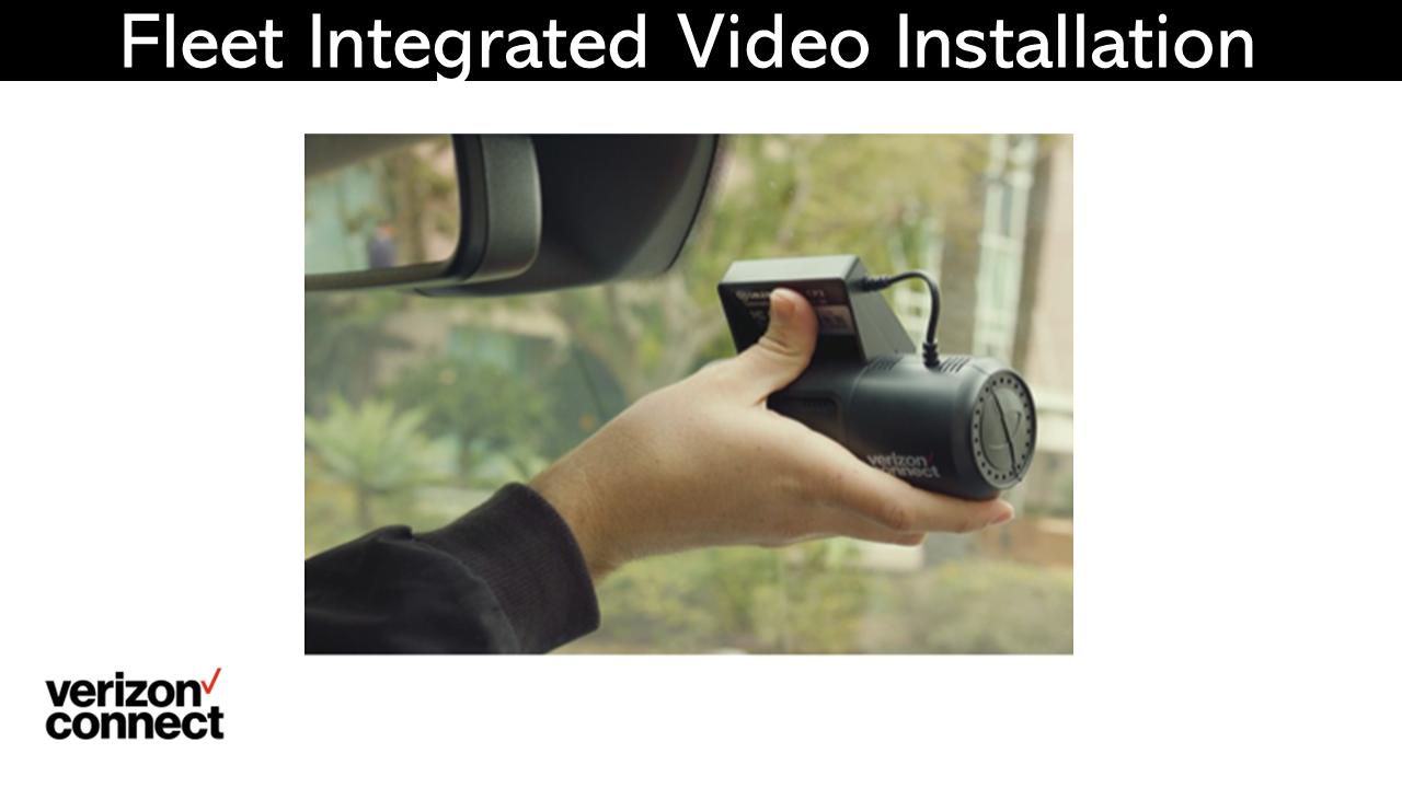 Fleet Integrated Video Installation