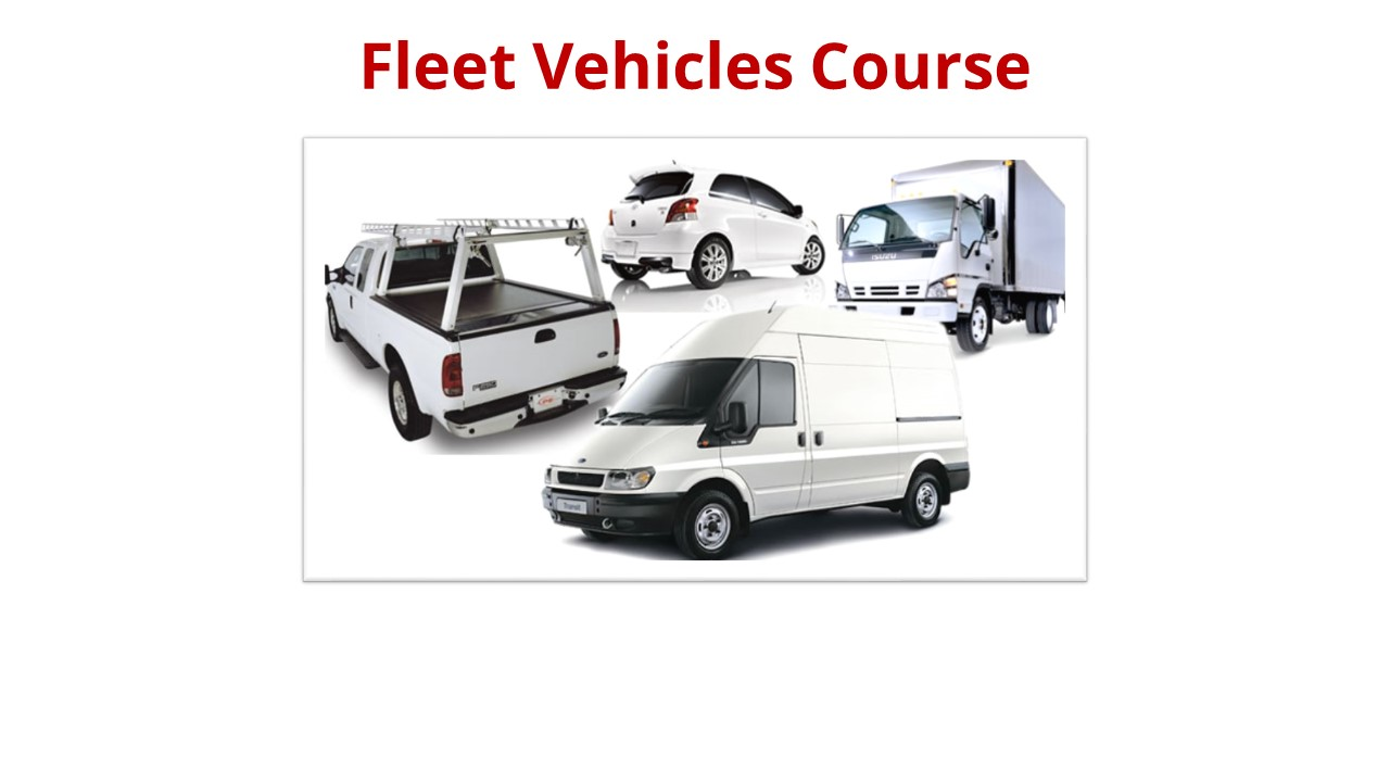 Fleet Vehicles Tab Overview Course