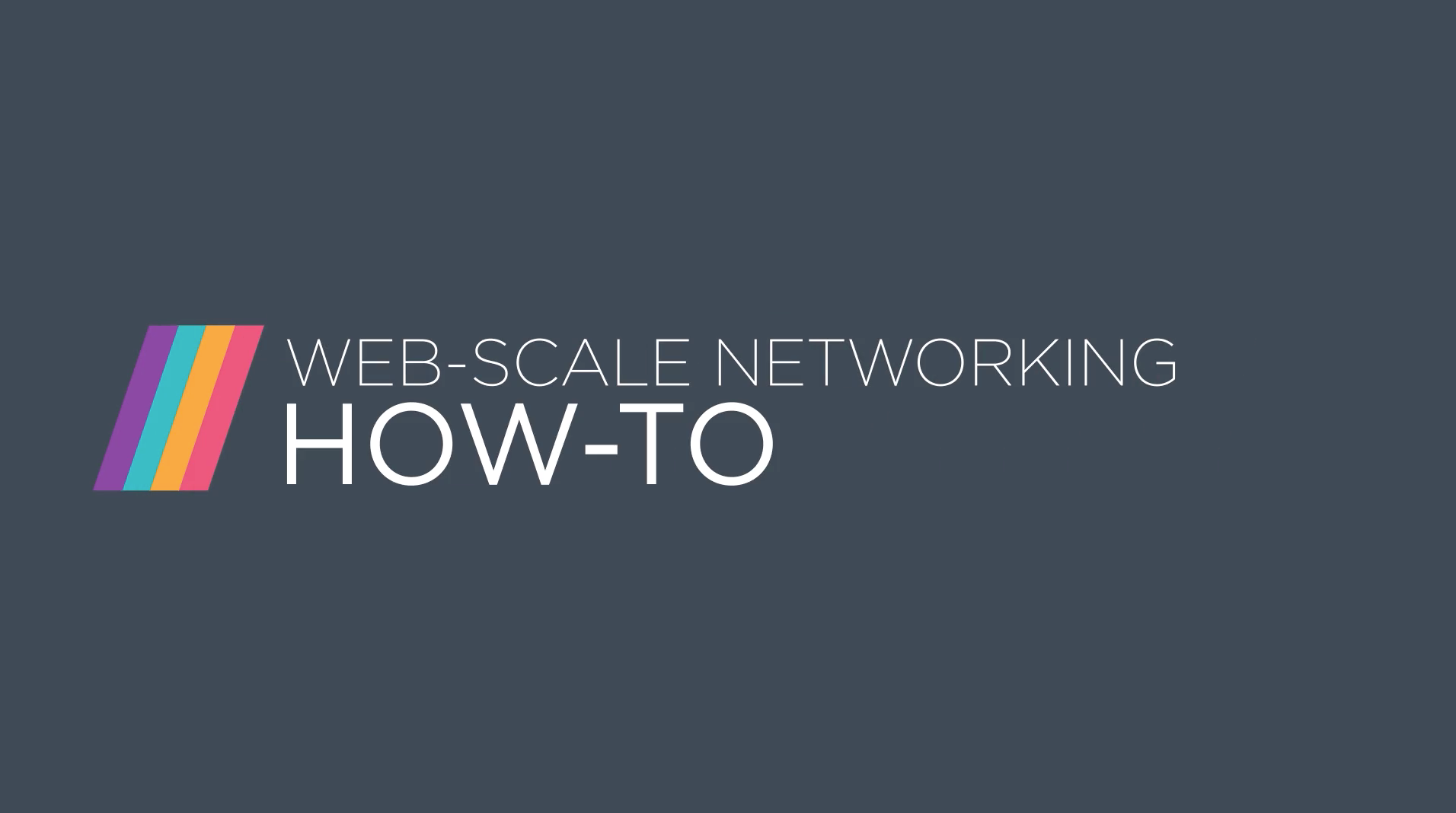 Getting started with open networking basics