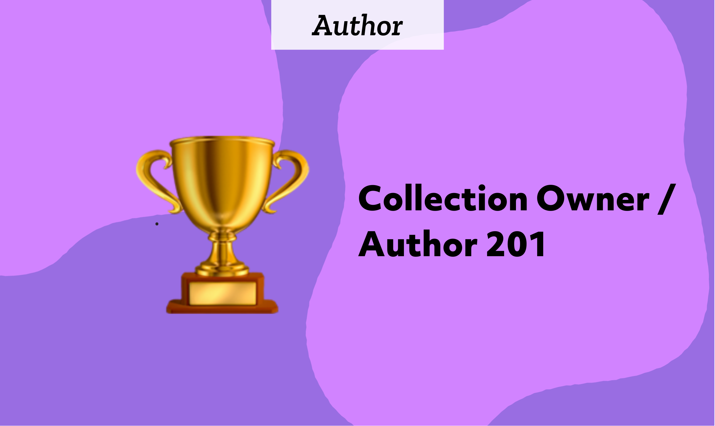 Collection Owner / Author 201