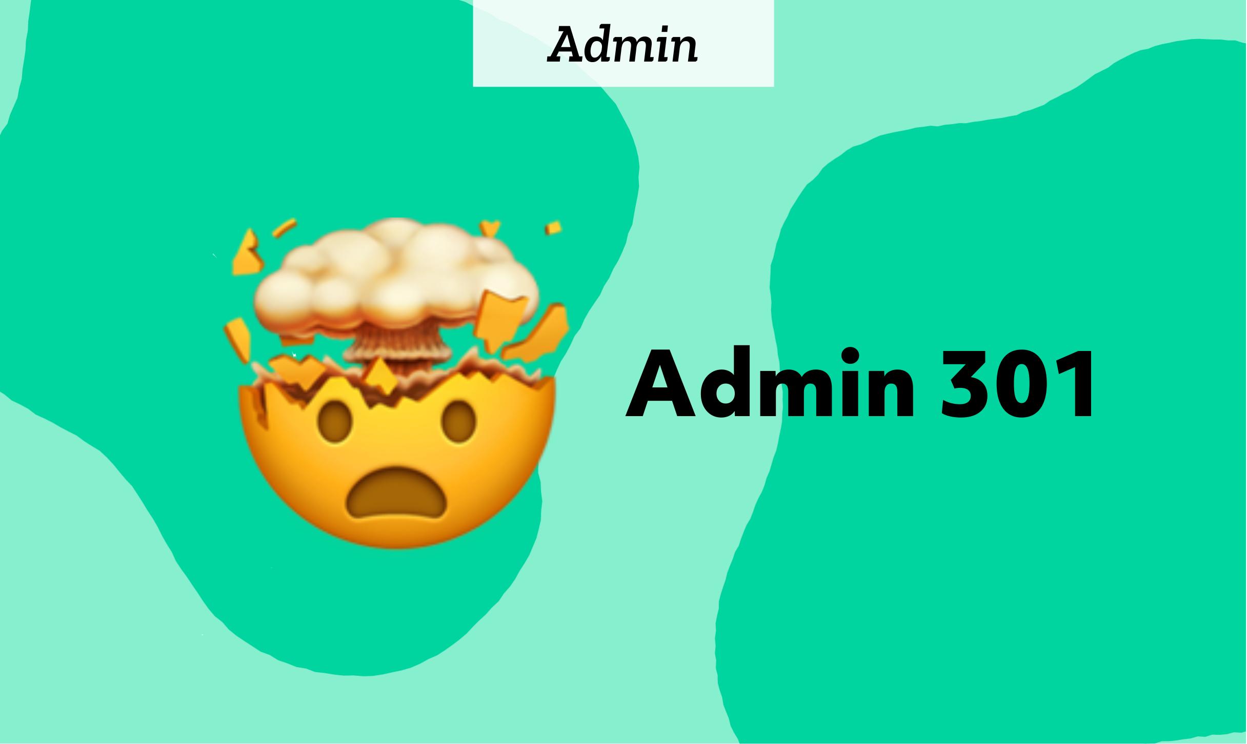 Admin 301