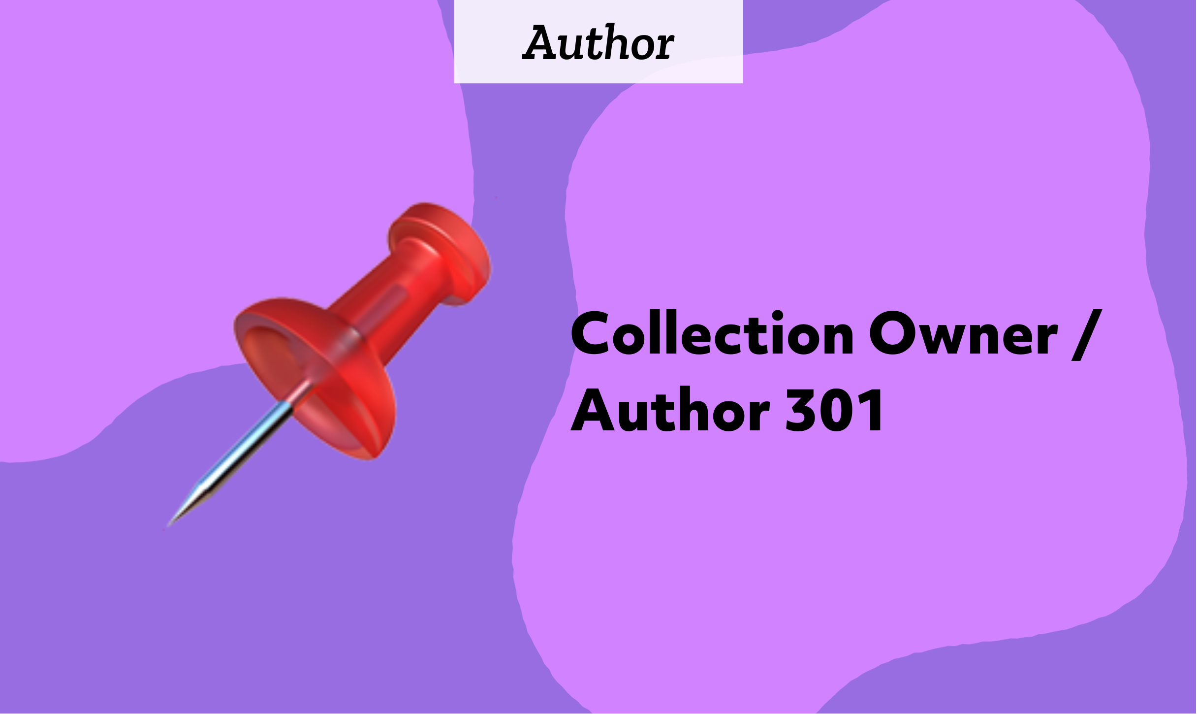 Collection Owner / Author 301