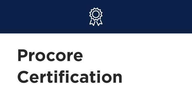 Role-Based Training Courses | Become Procore Certified