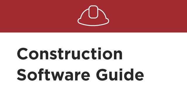 Develop an effective strategy for purchasing construction software