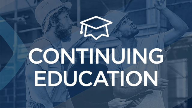 Construction Continuing Education | Free CE Units