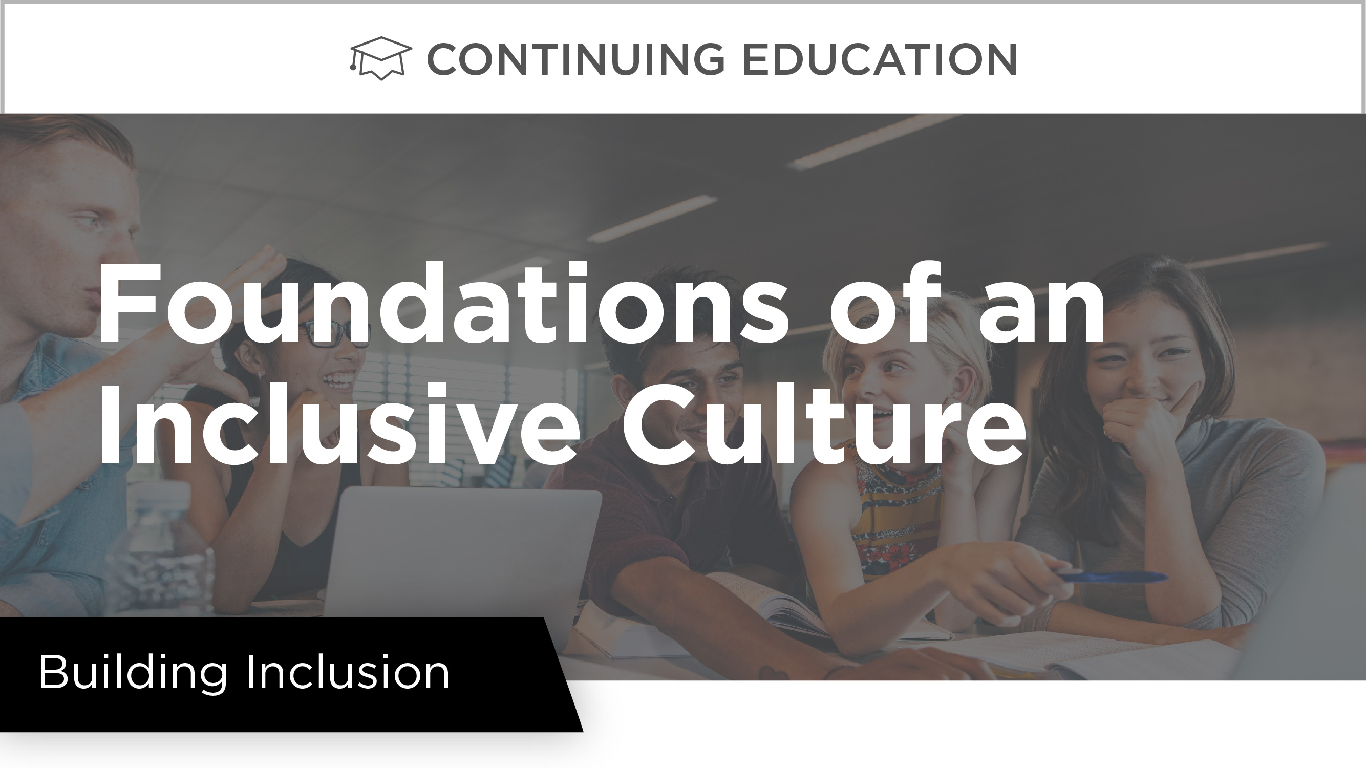 Building Inclusion: Foundations of an Inclusive Culture
