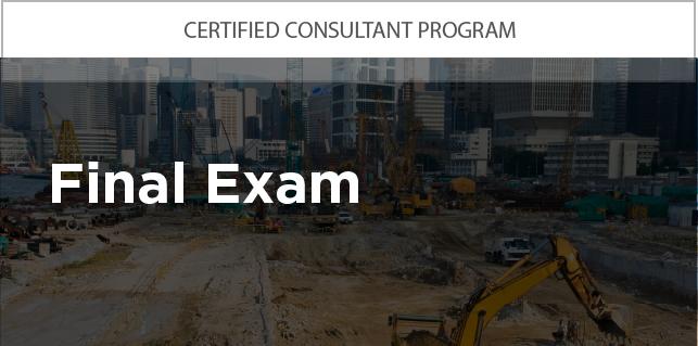 Certified Consultant Program: Final Exam