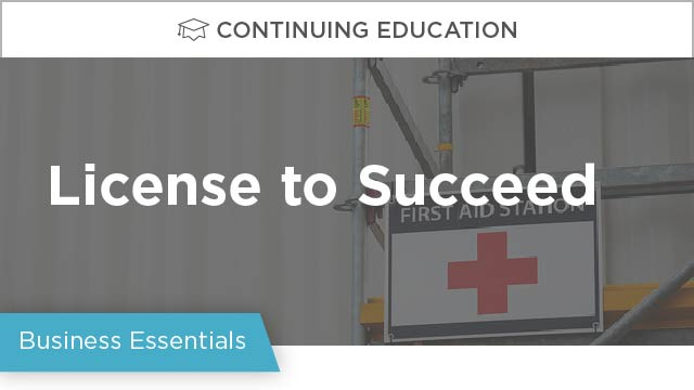 License to Succeed: A Guide for Construction Companies