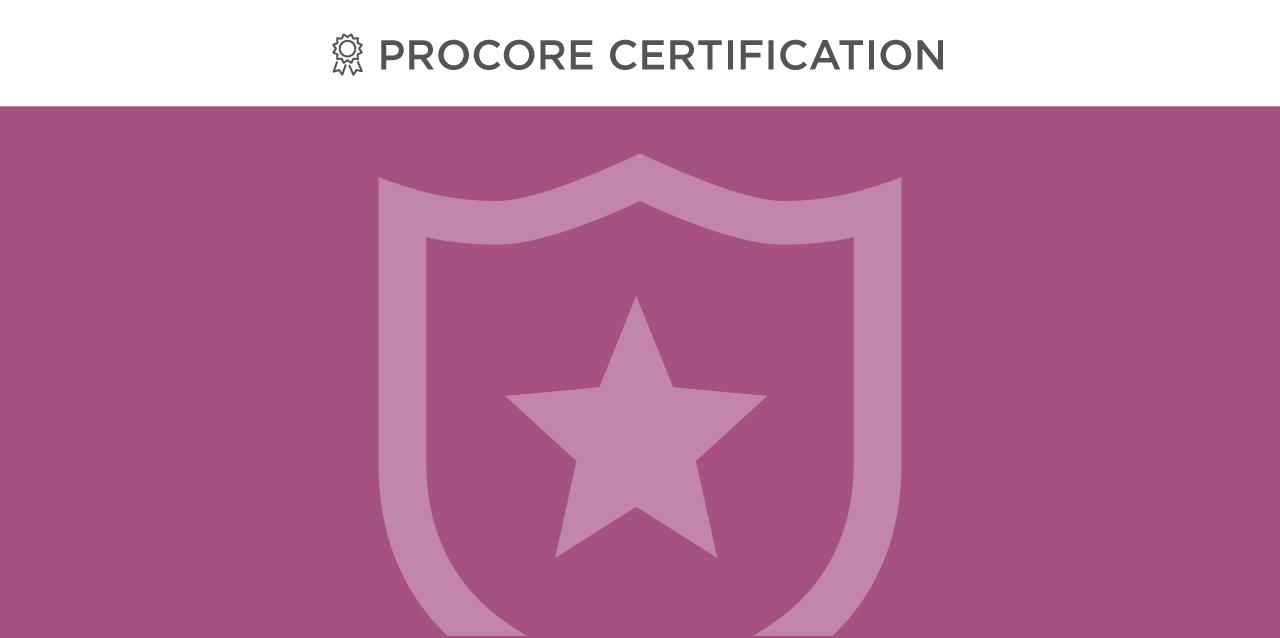 Procore Admin Certification
