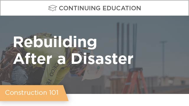 Lessons from Hurricane Harvey: Rebuilding After a Disaster