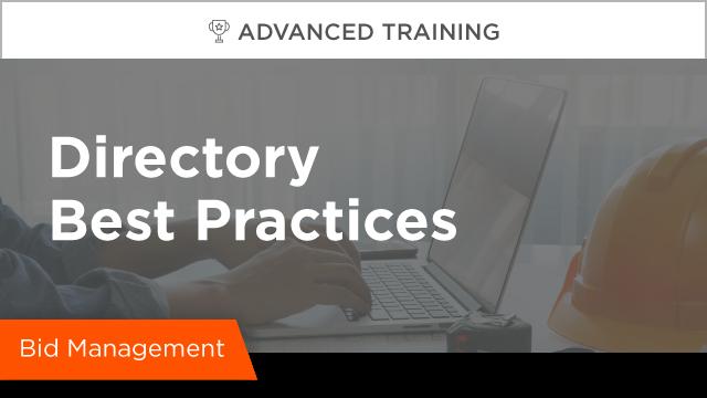 Directory Best Practices