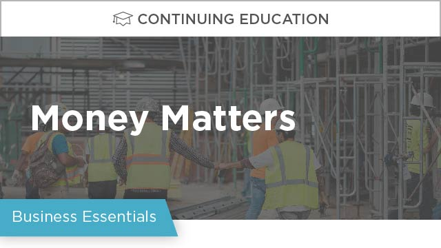 Money Matters: Construction Budgeting with Risk in Mind