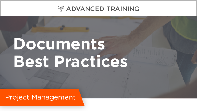 Documents Best Practices
