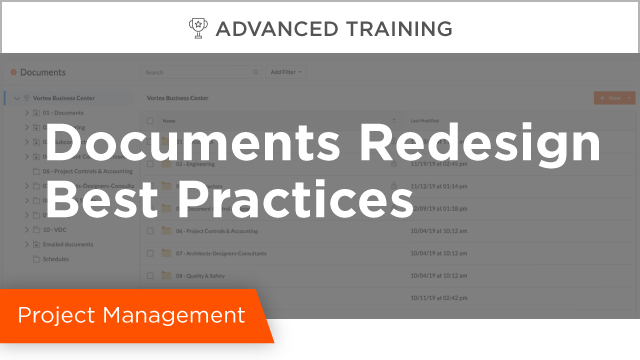 Documents Redesign Deep Dive and Best Practices