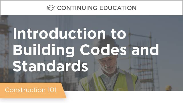 Introduction to Building Codes and Standards