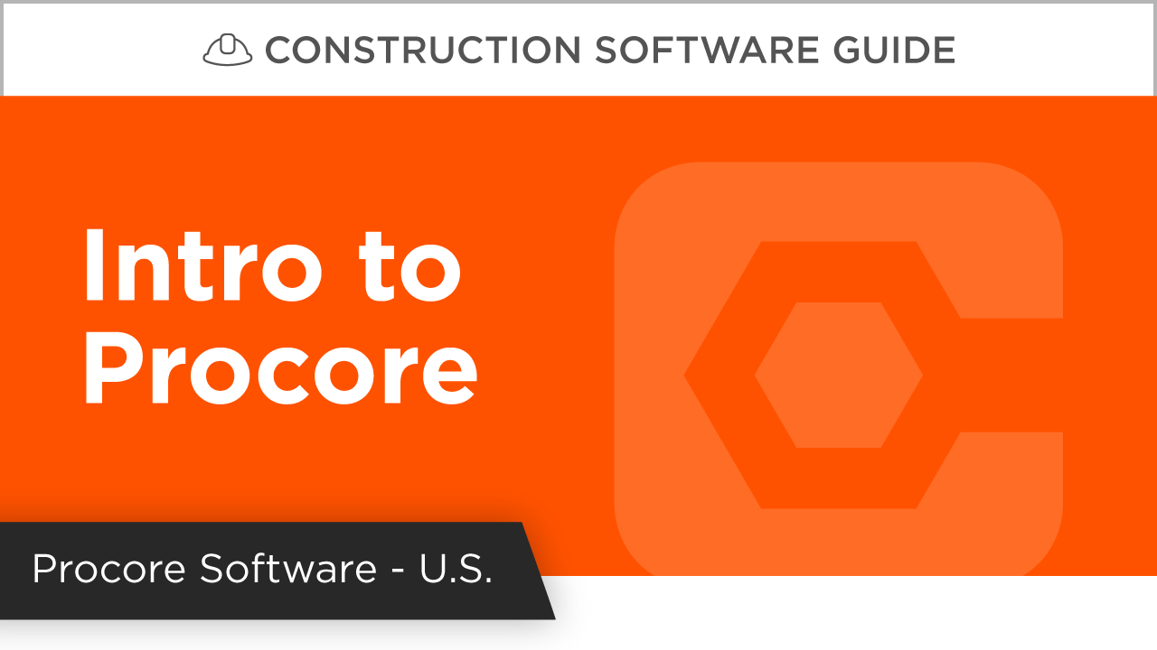 Intro to Procore