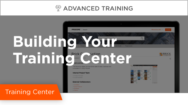 The Basics of Building Your Training Center