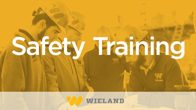 Wieland: Safety Training