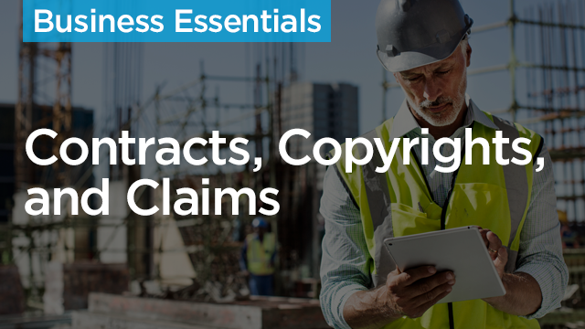 Contracts, Copyrights, and Claims, Oh My!