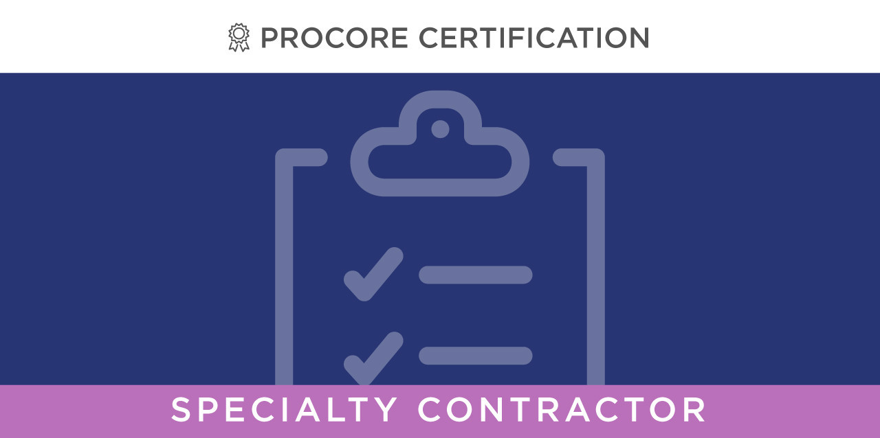 Project Manager: Core Tools -- at Specialty Contractor