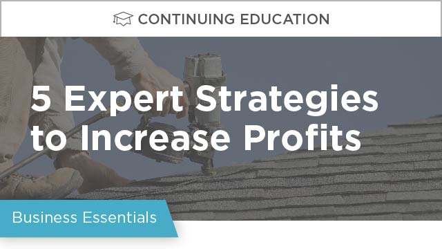 The 5 Expert Strategies Companies Use to Increase Profits