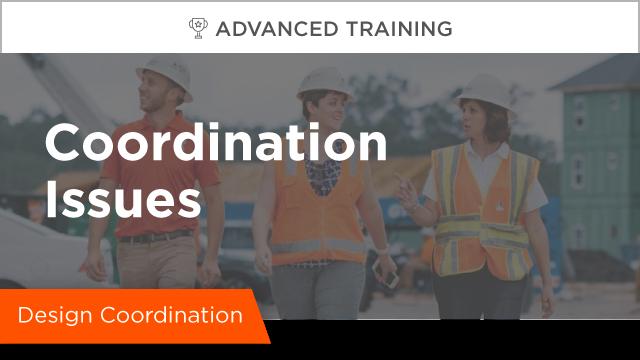 Design Coordination: Coordination Issues
