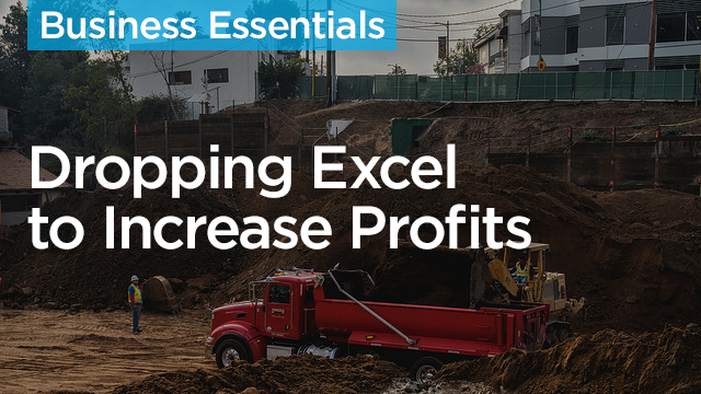 Making the Switch: How Dropping Excel in Favor of Construction Estimating Software Increases Profits
