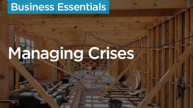 On-Demand GB2017: Managing Crises