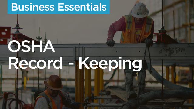 OSHA Record-Keeping in Construction
