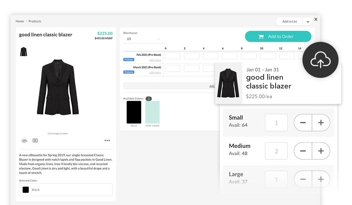 Intégrer les données de vos produits à NuORDER