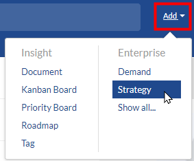 Changepoint SPM:  Add Strategies, Products, and Tags