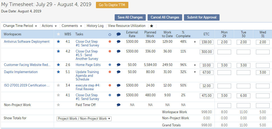 Changepoint PPM for Project Teams: Project Collaboration Tools