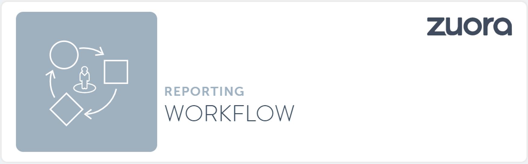 Zuora Workflow