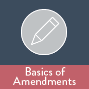 Basics of Amendments