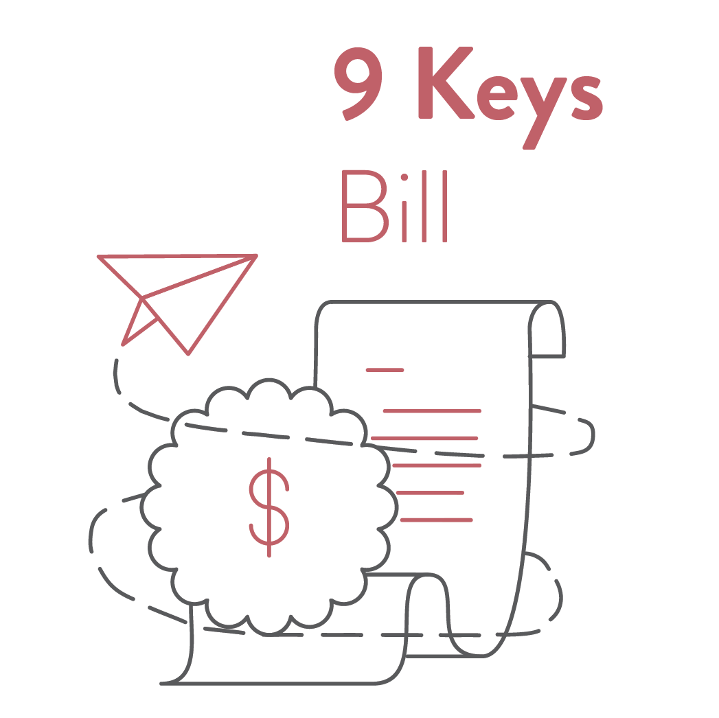 9 Keys: Bill For Accurate, Intuitive Invoices