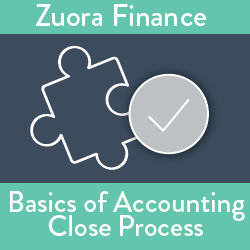 Zuora Finance: Basics of Accounting Close Process